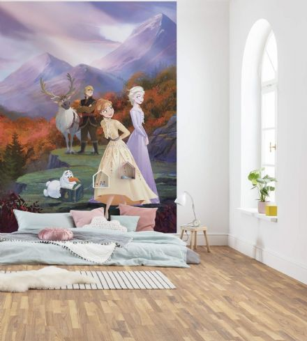 "Frozen ""Spring is Coming"" wall mural wallpaper"